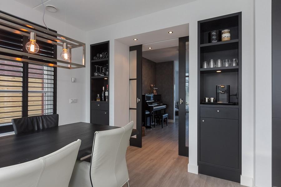 Vloer open keuken - Keuken en woonkamer in dezelfde kamer ...