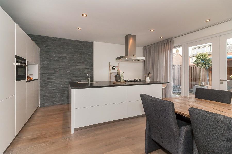 Handgemaakte keukens elon vloer interieur - Geintegreerde keuken wastafel ...